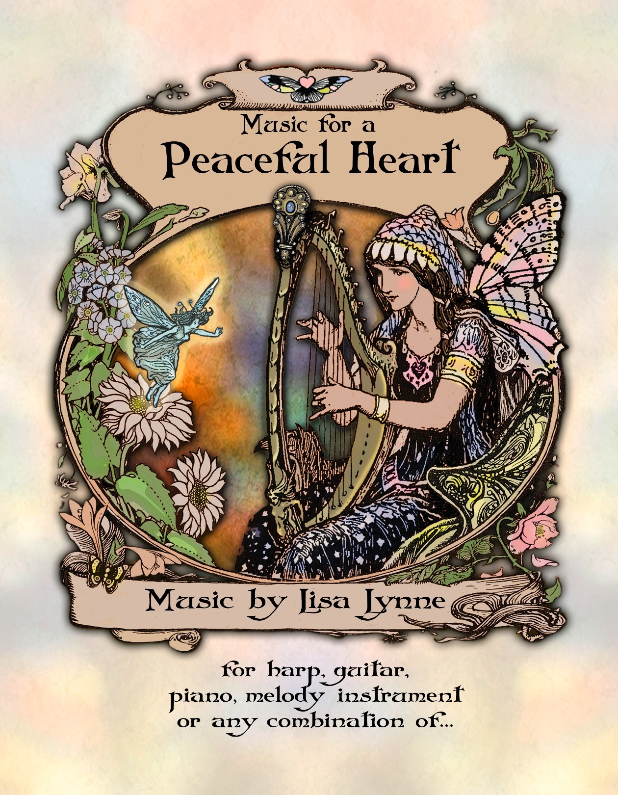Book – Music for a Peaceful Heart – Volume One – Lisa Lynne