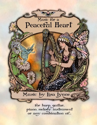 book, music for a peaceful heart Volume 1