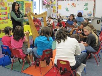 Harps in school for special needs