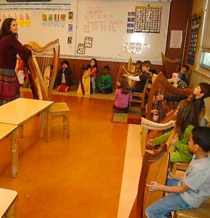harps in school
